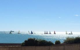Coquet T2 terrasse avec vue sur mer
