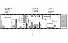Appartement duplex 2 pièces 5 personnes (E18)