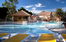 Camping Le Pré Catalan - Mh Cottage MIMOSAS  2Ch 4/5pers + Terrasse