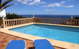 Villa a Javea avec belle vue mer - 6 personnes sur la Costa Blanca