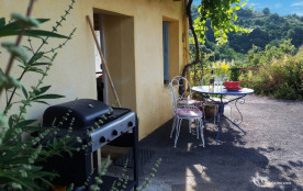 terrasse devant la cuisine