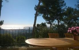 Collines de NICE a CANTARON Villa 87m2, au calme avec terrasse vue panoramique