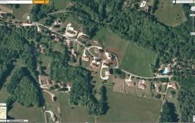 Situation de la maison dans le cercle rouge
