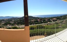 panoramique vue de la terrasse coté mer