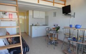 Appartement studio mezzanine de 22 m² environ pour 4 personnes, au calme et à 2 pas du cœur de la...