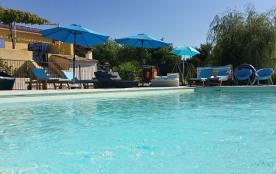 Maison 10/12 pers. Le royaume des enfants,piscine sécurisée, Sud Luberon