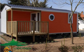 Mobil-Home O'Hara (RECENT 2016), 4/5 pers, 25m², terrasse intégrée, piscine couverte, Camping***