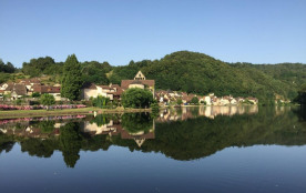 Huttopia Beaulieu sur Dordogne, 120 emplacements, 30 locatifs