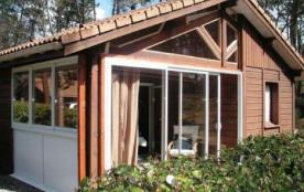 Chalet - Dans un parc résidentiel de loisirs sur 20 ha boisés, le village de Khelus vous accueill...