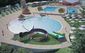 MH 3 chambres 6 places 30 m² climatisé TI. Le camping Spina Village est situé près de Ferrara, dans l'oasis naturelle...