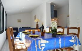 Banyuls sur Mer (66) - centre-ville - Villa Carmen. Appartement 4 pièces - 55 m² environ - jusqu'à 5 personnes.