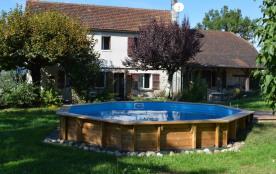 Charmante maison de vacances 10 pers+piscine privé
