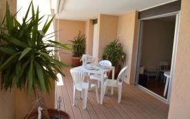 Appartement 3 pièces situé à 200 m de la plage.