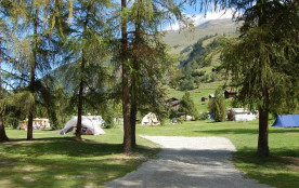 Camping Molignon, 100 emplacements, 6 locatifs