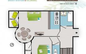 Appartement 3 pièces 6 personnes (46)
