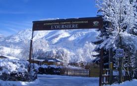 Capfun - Camping Caravaneige L'Oursière, 113 emplacements, 53 locatifs