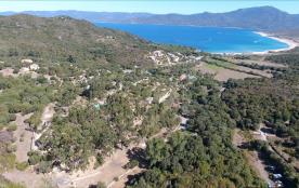 vue aérienne de notre site