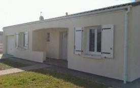 Maison récente plain-pied de 86 m²