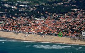 Localisation de la maison (rond vert)
