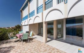 Saint Pierre la Mer (11) - Quartier du Port - Résidence le Figuier Bleu - Appartement 3 pièces de...