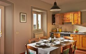 Maison 1 - Cuisine avec vue