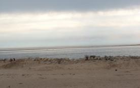 Plage de sable  la palmyre, suivie d'autres