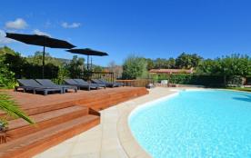 Appartements avec piscine chauffée 2/5pers  au coeur du maquis corse
