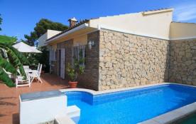 Villa Fortuny, C309-158 Villa Fortuny. Belle villa avec piscine privée à Vilafortuny, Cambrils.