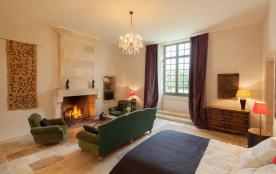 La chambre du Lodge Grande Champagne