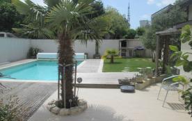 Belle maison de vacances centre ville La Rochelle avec piscine