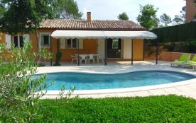 villa indépendante récente plein pied piscine privée à la campagne à Fayence en Provence-Alpes-Côte d'Azur