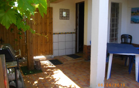 Terrasse 30m² abritée et ombragée