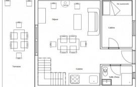 Résidence les Chalets du Gua des Brasses - Duplex T3/Cabine 6/8 pers