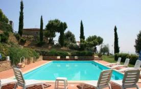 SINALUNGA, Toscane, région de Sienne très belle villa du 19ème, piscine privée 16 personnes, sple...