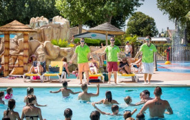 Camping Bel Air - Mh BALY 2ch 4/6pers + Terrasse intégrée Semi-Couverte
