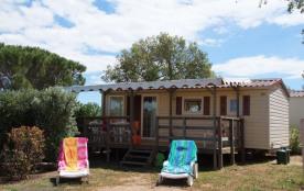 Mobil-Home PRESTIGE 35m² / 2 chambres - terrasse couverte - Des vacances réussies au cœur de la Côte d'azur.