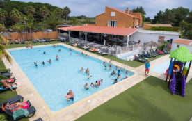 Camping Le Soleil Bleu - Chalet 3ch 6pers Fuster