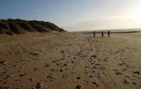 Plage des sables Vigniers l'hivers