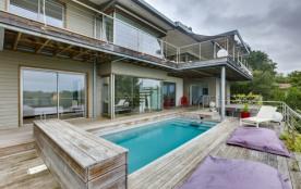 Villa contemporaine, vue exceptionnelle