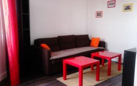 Appartement 1 pièce - 25m² environ - jusqu'à 2 personnes.