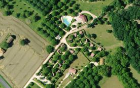 Photo aérienne du domaine