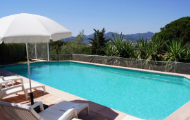 villa climatisée cannes vue mer piscine spa sauna