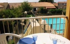 Résidence Santa Marina - Appartement 3 pièces situé à 800 m de la plage.