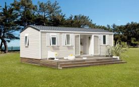 Mobil-home Cordélia 6 personnes (3 chambres) - Le camping 3 étoiles le Domaine de Pont-Mahé vous propose pour vos vac...