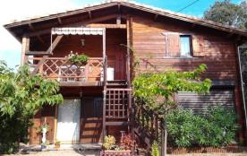 Appartement Première étage Dans Chalet, Cadre Verdoyant Et Maquis