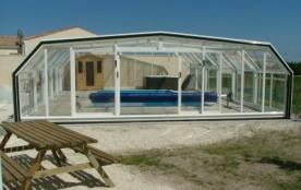 6 a 30 personnes piscine couverte,  bbq, jardin cloturé avec jeux enfants, tables extérieures - Saint Georges de Didonne