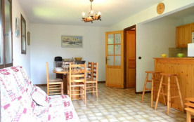Appartement 2 pièces de 46 m² environ pour 5 personnes, la Résidence Le Catalpa se situe dans le ...