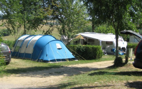 Camping les Tomasses, 74 emplacements, 12 locatifs