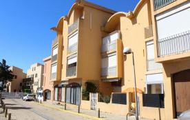 Gruissan (11) - Rive Gauche - Résidence la Farigoule II. Appartement 2 pièces + loggia - 30 m² en...
