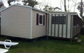 Mobilhome camping 4 etoiles - bretagne sud- 6/8 p